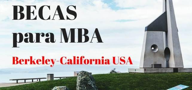 Becas para MBA en Berkeley-California USA
