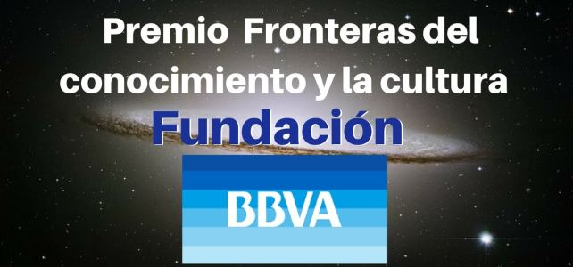 Premio fronteras del conocimiento y la cultura, Fundación BBVA.