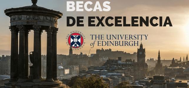 Beca de excelencia en la U. de Edimburgo