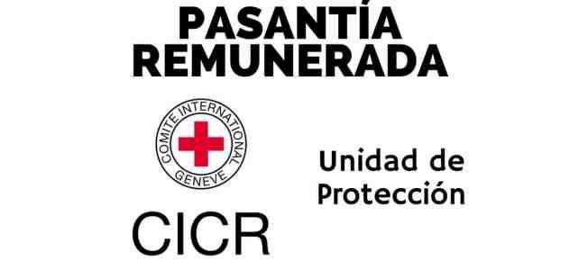 Pasantía remunerada con el Comité Internacional de la Cruz Roja CICR
