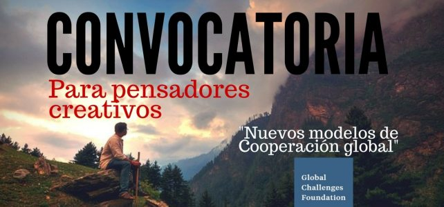 Convocatoria de la Global Challenges Foundation para pensadores creativos – aplica en español !