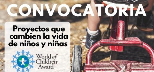 Convocatoria para premiar proyectos que cambien la vida de niños y niñas – World children award