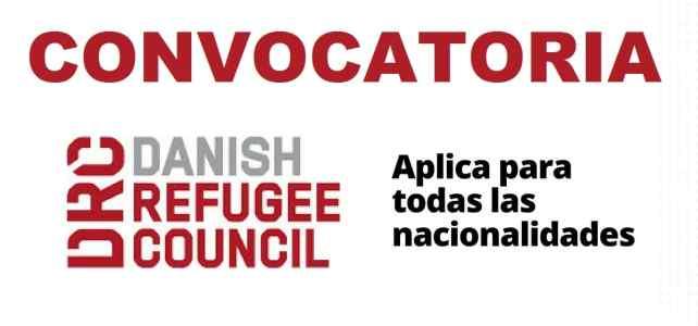 Convocatoria internacional con el Consejo Danes de Refugiados – DRC