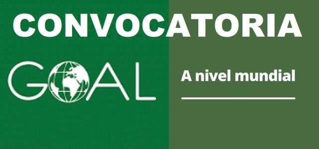 Convocatoria internacional con la organización Goal
