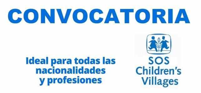 Convocatoria internacional con SOS Children Villages International