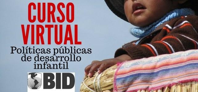Curso del BID en políticas públicas de desarrollo infantil