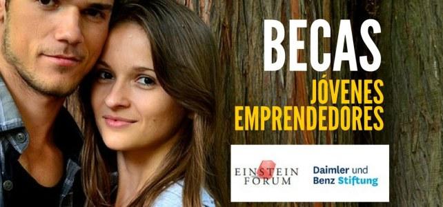 Becas para jóvenes emprendedores – incluye gastos de viaje y manutención