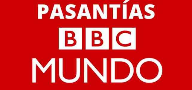 Más de 1.000 pasantías en la BBC de Londres
