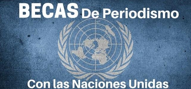 Becas en periodismo con las Naciones Unidas – incluye tiquetes, alojamiento y manutención