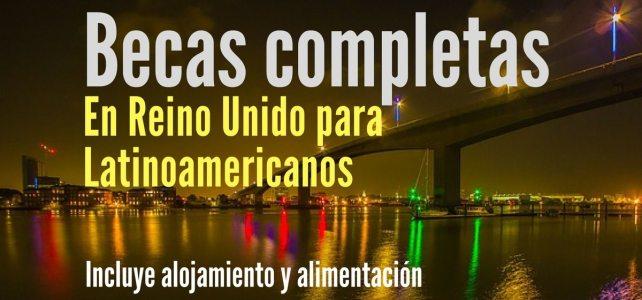 Becas completas de verano para Laritoamericanos en UK