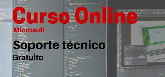 Curso online y gratuito de Microsoft sobre soporte técnico