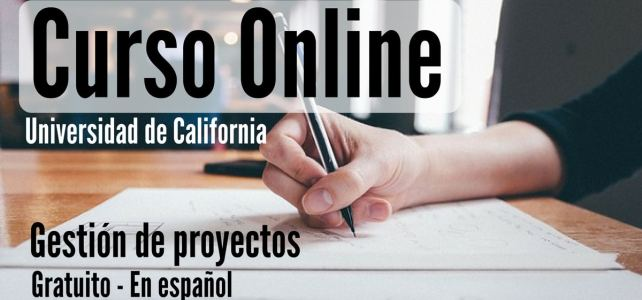 Curso online, gratuito y en español sobre gestión de proyectos