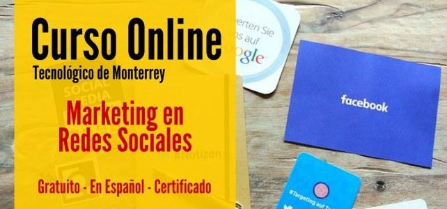 Curso online y gratuito de Marketing en Redes Sociales