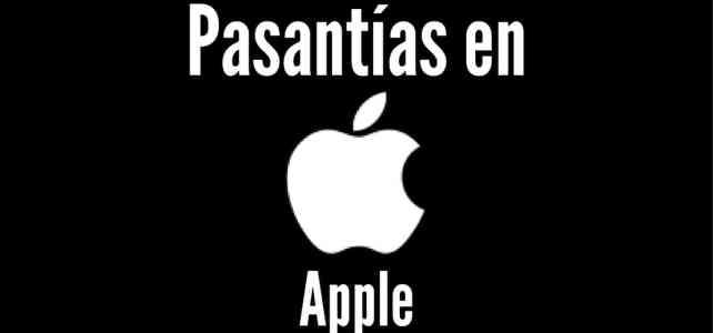 Pasantías con Apple – convocatoria abierta
