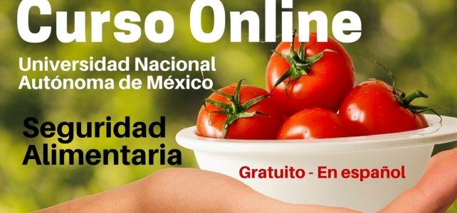 Curso online y gratuito sobre Seguridad Alimentaria