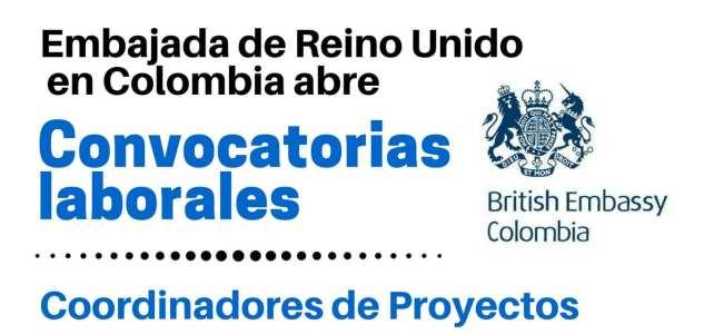 Convocatorias de la Embajada de Reino Unido