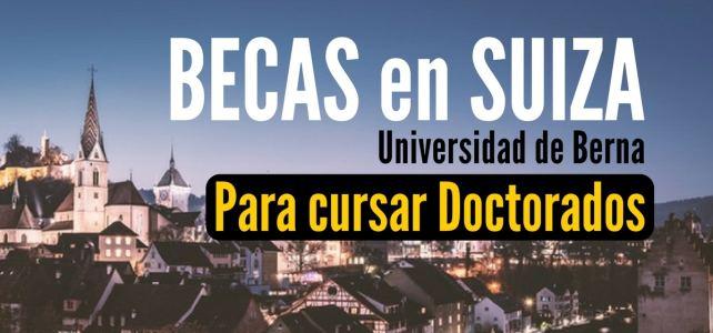 Becas en Suiza para doctorados
