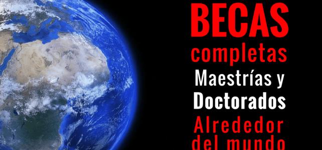 Becas completas para ciudadanos peruanos : Pasajes, estadía y más