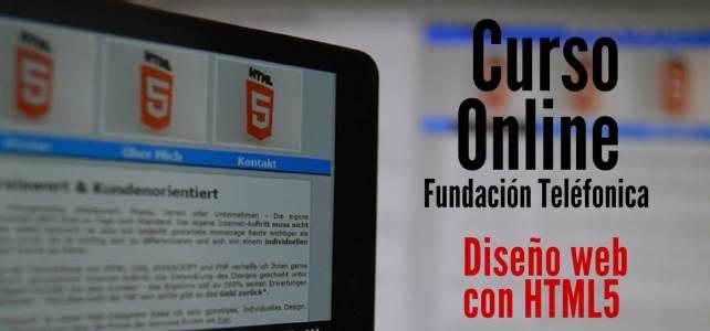 Curso online gratuito sobre diseño web con HTML5 y CSS3