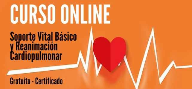 Curso online, gratuito y certificado sobre Soporte Vital Básico y Reanimación Cardiopulmonar