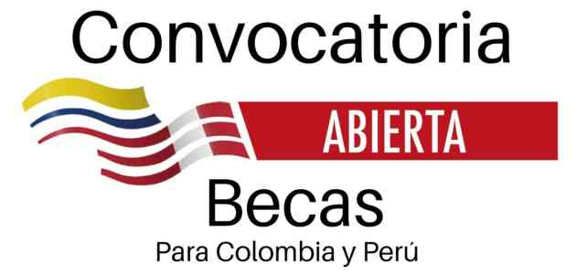 Convocatoria de becas del Programa Binacional Colombia – Perú