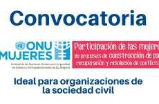Convocatoria de ONU Mujeres para organizaciones que trabajen en género y derechos de las mujeres