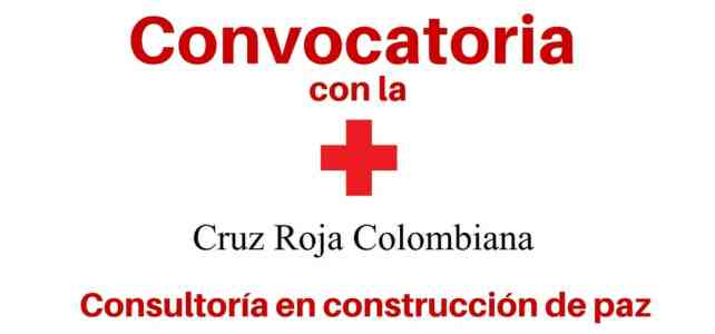 Convocatorias laborales con la Cruz Roja Colombiana