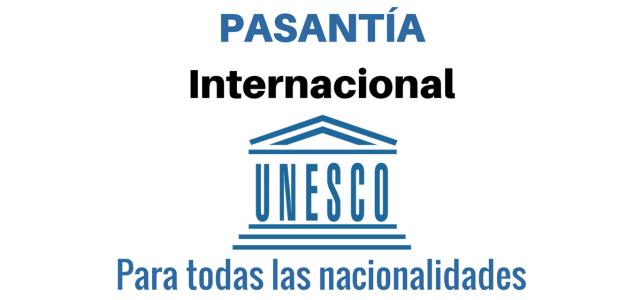 Pasantías en la UNESCO