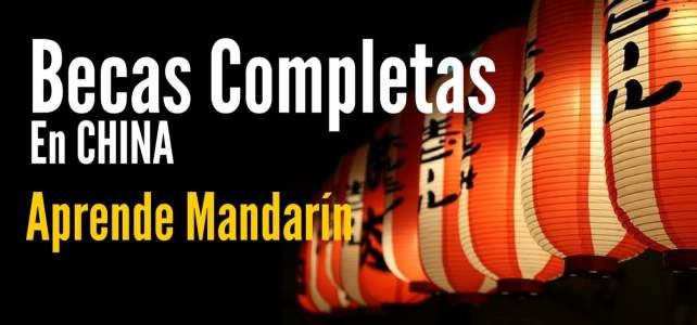 Becas completas para aprender Mandarín en China