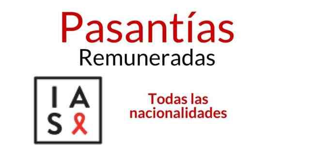 Pasantías remuneradas con IAS, Sociedad Internacional de VIH y Sida
