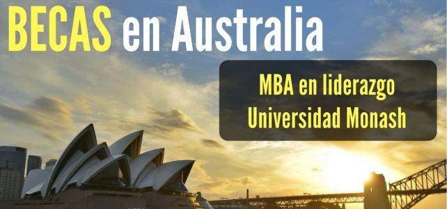 Becas en Australia para MBA en liderazgo