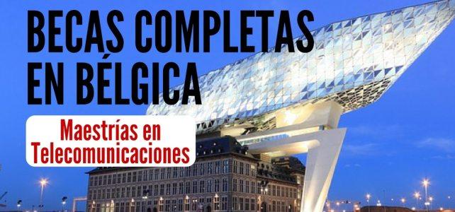 Becas OEA completas en telecomunicaciones en Bélgica