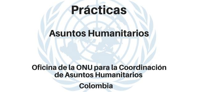 Prácticas Asuntos Humanitarios OCHA