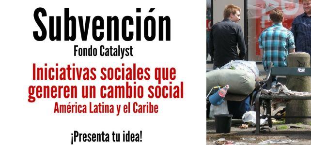 Financiamiento para iniciativas sociales