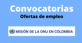 Nuevas Vacantes : La segunda Misión de la ONU busca profesionales en diferentes áreas