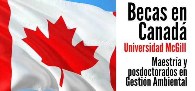 Becas en Canadá para cursar maestrías y posdoctorados