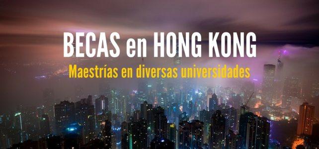 Becas para maestrías en universidades de Hong Kong