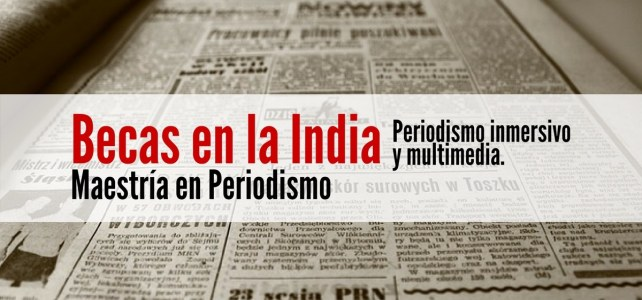 Becas en India para maestría en periodismo