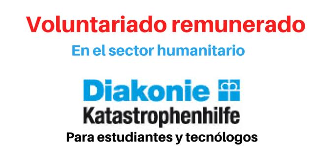 Voluntariado con ONG de ayuda humanitaria
