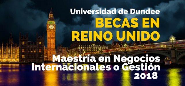 Becas para Maestría en Negocios Internacionales