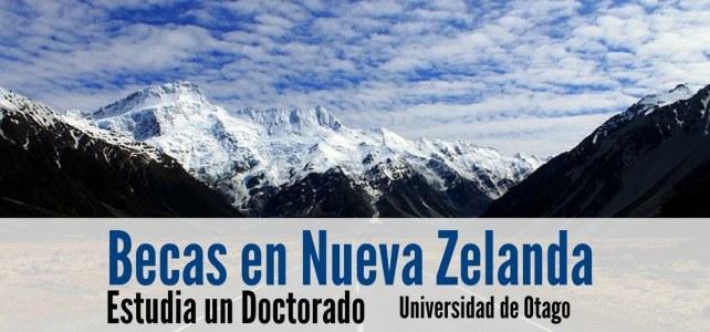 Becas para doctorados en Nueva Zelanda