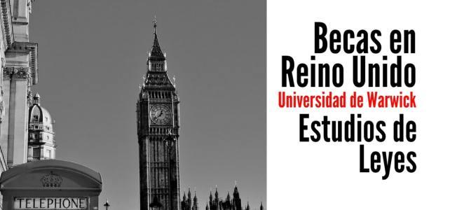 Beca para estudiar leyes en Reino Unido