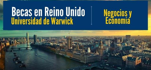 Beca para estudiar negocios en Reino Unido