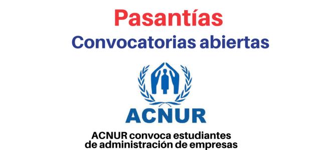 Convocatoria de pasantías con Naciones Unidas: ACNUR  – UNHCR