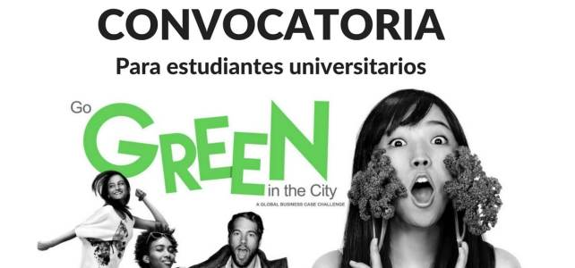 Convocatoria para estudiantes universitarios Go Green in the City – Viaja a USA sin costo