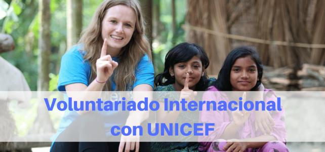¿cómo funciona el voluntariado internacional de UNICEF?
