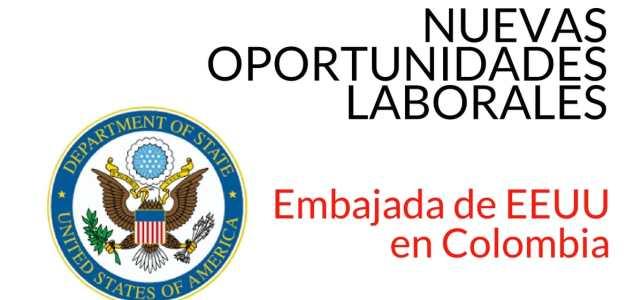 Vacantes en Embajada de EEUU en Colombia