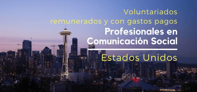 Voluntariado remunerado en Estados Unidos – incluye gastos de viaje y tiquetes