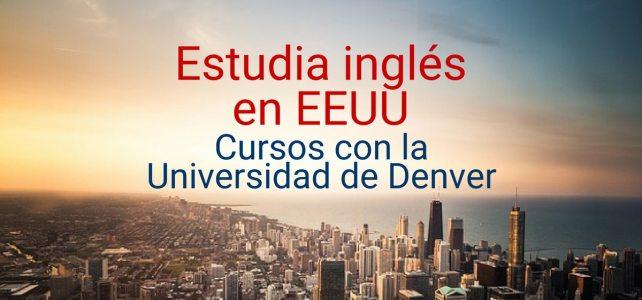 Estudia inglés con la Universidad de Denver – USA