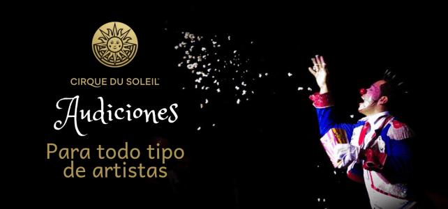 Audiciones para formar parte del Cirque du Soleil – Circo del sol